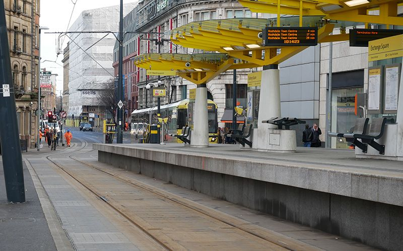 Manchester tramway